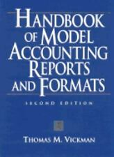 Handbook of Model Accounting Reports and Formats