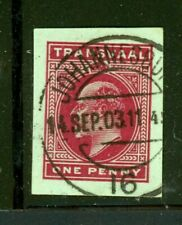 Transvaal cut square - Used - Nice Cancellation
