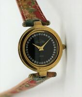 Laura di Sarpi - analoge Damenarmbanduhr aus goldplattiertem Stahl mit Quarzwerk