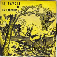 """LE FAVOLE DI LA FONTAINE - fiaba sonora 7"""""""
