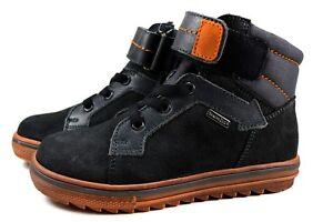 Richter Kinder Leder Schuhe Jungen Sneaker Warm SympaTex Gr.28-38 grau 7842-831