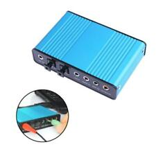 External USB Sound Card Channel 5.1 7.1 Optical Audio Card Adapter for PC Laptop