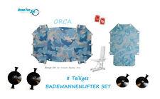 NUEVO Elevador baño SET COMPLETO 8 Piezas Tapicería para Invacare Aquatec ORCA