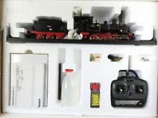 (OWA011) Märklin 55001 AC Spur 1 Schlepptender Dampflok mit Echtdampfantrieb ...