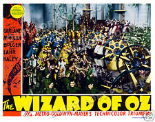 THE WIZARD OF OZ  LOBBY SCENE CARD # 7 POSTER 1939 JUDY GARLAND