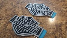 2 NEW FORD TRUCK F150 F250 F350 EXPEDITION HARLEY DAVIDSON EMBLEMS PAIR SET