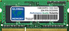 Memoria RAM per prodotti informatici con velocità bus PC3-10600 (DDR3-1333) da 1 moduli da 1GB