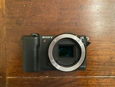 Sony Alpha A5100 24.3MP Digital Camera - Black (Body Only)