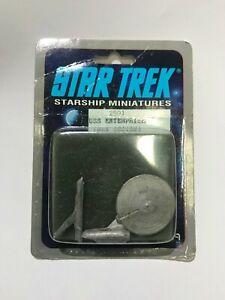 Vintage 1988 Star Trek Starship Miniatures USS Enterprise 2501