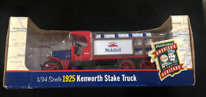 Ertl 1925 Kenworth Stake Truck Gargoyle Mobiloil 1/34 Scale New In Box 1999