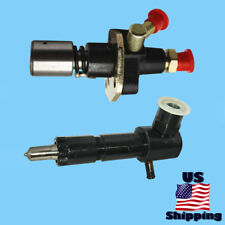 Diesel Mechanical Fuel Pump & Right Port Injector for Mortox Patriot Powerquip