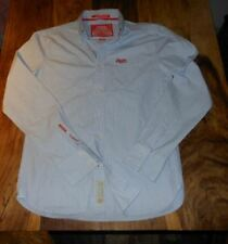 Superdry  Mens Long Sleeved button down Shirt size M,mint used condition