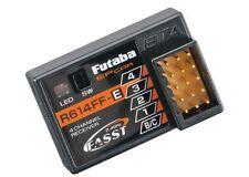 BRAND NEW FUTABA R614FF-E R614FF 4CH 2.4GHz FASST RC RX RECEIVER FUTL7632 4PKS !