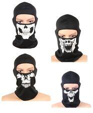 Skull Ghost Style COD 1 Hole Balaclava Motorcycle Motor Bike Airsoft Face Mask