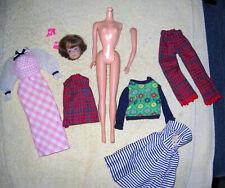 Large Vintage Barbie & Friends Lot With Bend Leg Midge Head & More