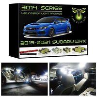 White LED Interior Lights Package Kit for 2015-2020 2021 Subaru WRX 3014 Series