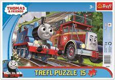 Trefl Thomas et amis 15 Piece Jigsaw Puzzle pour Enfants Thomas et Flynn
