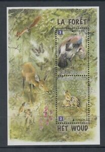 BELGIUM 2011 EUROPA UN YEAR OF THE FOREST M/S UHM/MNH (ID:431/D46265)