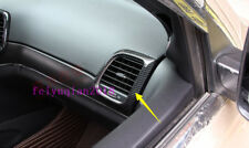 Carbon Fiber inner Side Air Vent Outlet Cover For Jeep Grand Cherokee 2014-2018