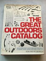 """Vintage - """"The Great Outdoors Catalog"""" by Kenn and Pat Oberrecht H/B w D/J"""