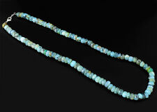 Gorgeous Finest AAA 242.00 Cts Natural Peruvian Opal Unheated Beads Necklace