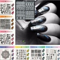 BORN PRETTY Nail Art Stamp Stamping Image Plate  Stencil Template