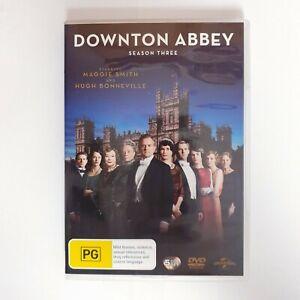 Downton Abbey Season 3 TV Series DVD Region 4 AUS - Drama Historical