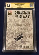 Guardians of the Galaxy #18 Ross Sketch 1:300 CGC 9.8 Signed by Stan Lee 11/4/18