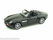 MAISTO BMW Z8 BLACK 1/24 DIECAST CAR NEW IN BOX 31996BK