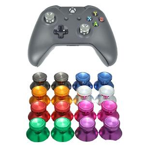 Xbox One Metal Analog Thumb Sticks Chrome Grips Controller Thumbsticks