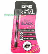 ADS MAGIC KAJAL SUPER BLACK EXTRA ORDINARY CARE WATERPROOF 12 H 9 TO 9 STAY