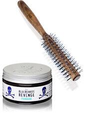 The Bluebeards Revenge Quiff Roller Brush & Mens Hair Styling Pomade 100ml