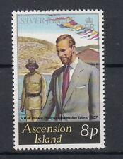 Ascension Island 1977 25 anniversario ascesa al trono Elisabetta II Mnh