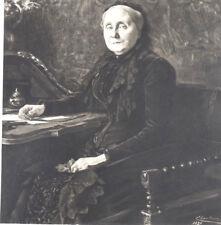 CHARTRAN Théobald 1849 1907 PORTRAIT GRANDE GRAVURE ORIGINALE