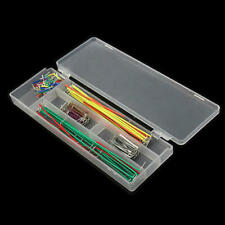 140 Pieces U-Shape Breadboard Jumper Cable Wire Kit Solderless For Arduino Pi UK