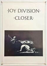 More details for joy division: closer - 1980 - original rare commercial promo poster - ian curtis