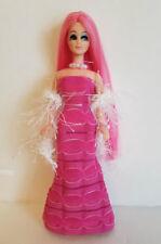 DAWN DOLL CLOTHES Pink GOWN, BOA & JEWELRY HM Fashion NO DOLL dolls4emma