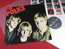 THE POLICE Outlandos d amour LP a&m 394753-1 GERMANY 1979 Near Comme neuf