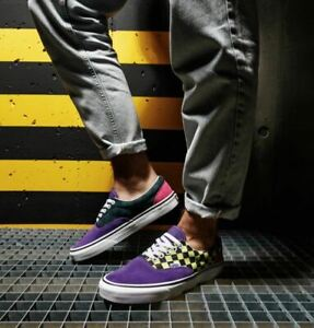 Vans Era Sport Pack Checkers Skate Shoes Size 11.5