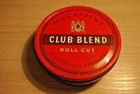 Mac Baren's Club Blend  tobacco tin