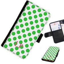 Fundas con tapa color principal verde para teléfonos móviles y PDAs