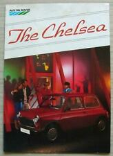 MINI CHELSEA Special Edition Car Sales Brochure 1985 #3728 AUSTIN ROVER