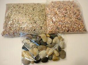 Lot of 12 lbs. Aquarium Fish Tank Gravel Pebbles Color Stones And Rocks