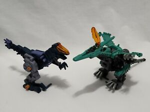 Zoids Raynor & Gun Sniper Action Figures Weapons Motorized Part Lot
