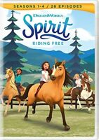 Spirit: Riding Free: Seasons 1 / 2 / 3 / 4 (4 Disc) DVD NEW