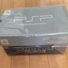 Crisis Core Final Fantasy 7 10th Anniversary Limited Silver Consol PSP 2000 NEW
