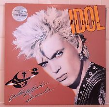 Billy Idol Whiplash Smile - LP vinyl - REM U2 Midnight Oil Pop rock Madonna