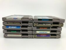 Authentic Vintage Nintendo NES Lot of 10 Games - Cleaned - Tested & Works