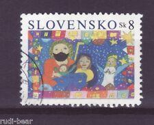 Slowakei Nr.  496  gest.  Weihnachten   Die Heilige Familie