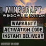 *CHEAPEST* Minecraft Windows 10 Edition PC Activation Key *GLOBAL AND INSTANT*